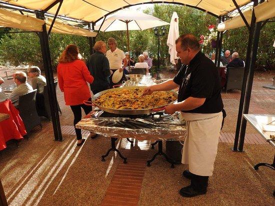 Lombez, France : Brasserie terras