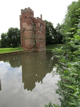 Kirby Muxloe in reflection