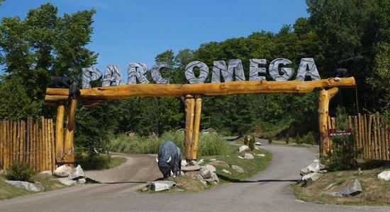 Montebello, Kanada: Entrée du Parc