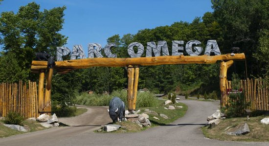 Montebello, Canada: Entrée du Parc