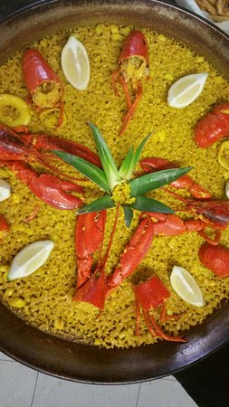 El Saler, Spania: Restaurante Vicent