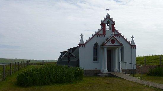 St. Mary's, UK: Italian Chapel exterior