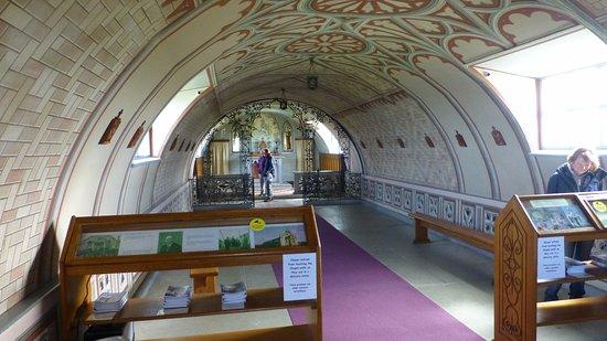 St. Mary's, UK: Italian Chapel interior 1