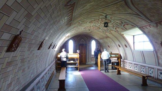 St. Mary's, UK: Italian Chapel interior 2
