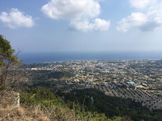Филеримос, Греция: То что налево по цене 6 Евро. Вид на Средиземное море