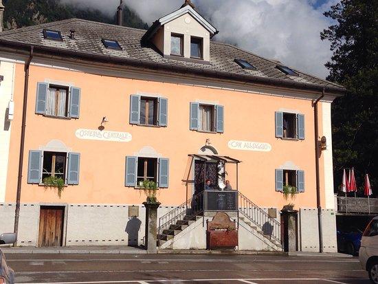 Olivone, Suíça: Bei sonnenschein 23.7.16