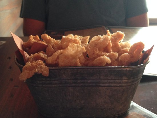 Forrest City, AR: Fresh pork rinds