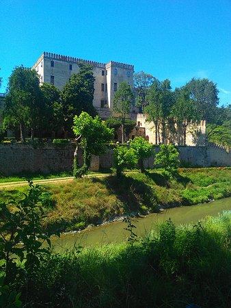 Battaglia Terme, Italia: Il castello dall'esterno.