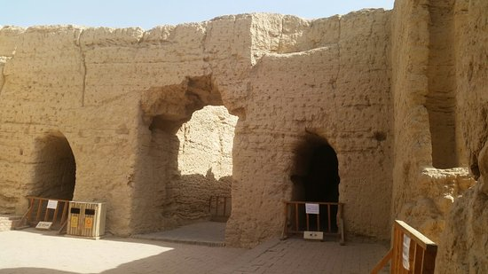 Turpan, Chiny: Ancient City of Jiaohe (Yarkhoto)