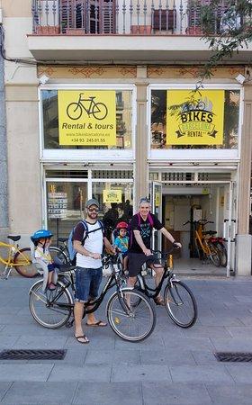 Bikes barcelona rental spanien anmeldelser tripadvisor for Sat roca barcelona
