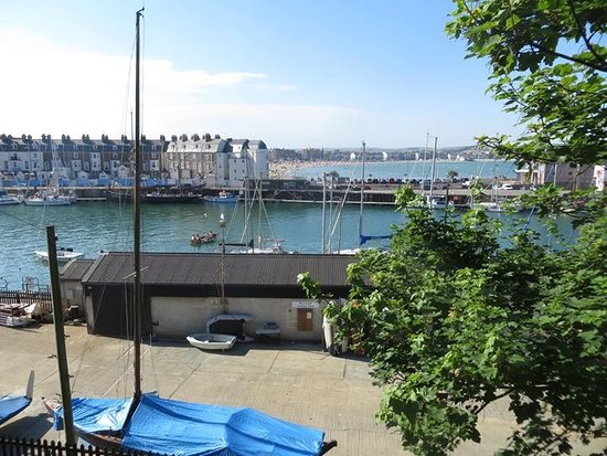 Weymouth harbour and beach