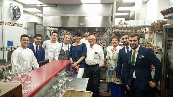 Ramon Freixa Madrid : Visita en la cocina que suna 20 cocineros