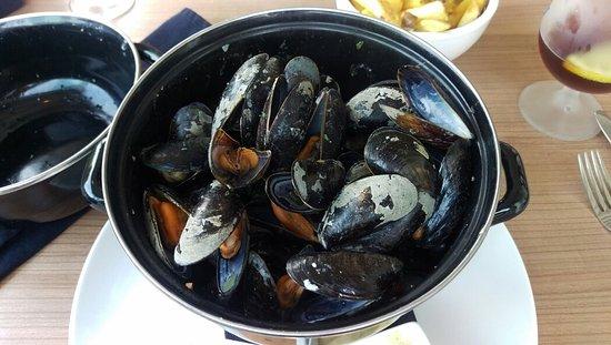 South Holland Province, เนเธอร์แลนด์: Heerlijk gegeten by Steef...kom er zeker nog een keer terug. Zeer mooie locatie aan het water en