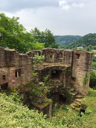Wertheim, Allemagne : A view of the ruins