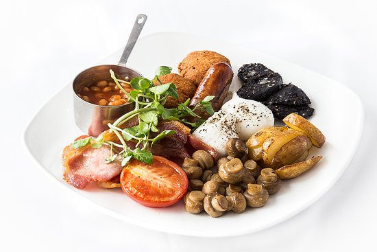 Hello Hotel Manchester: Albert's next door serve  breakfast on a Saturday & Sunday