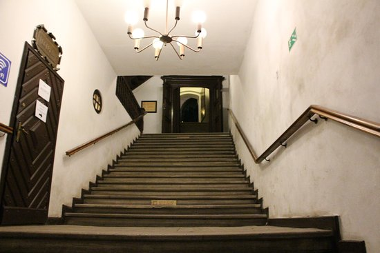 Lagow, Poland: Inside of a hotel is all unique.