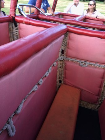 Coventry, UK: One of four spacious sections inside the basket