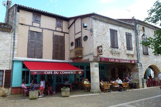 Lauzerte, Francia: Les voyageurs ne s'y trompent pas!