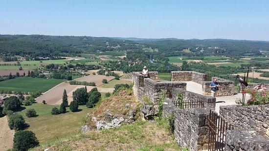 Domme, Frankrike: Ville Médiévale avec vue