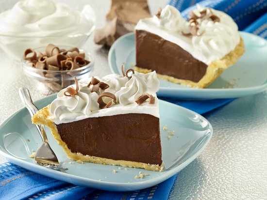 Upland, Калифорния: Chocolate Cream Pie