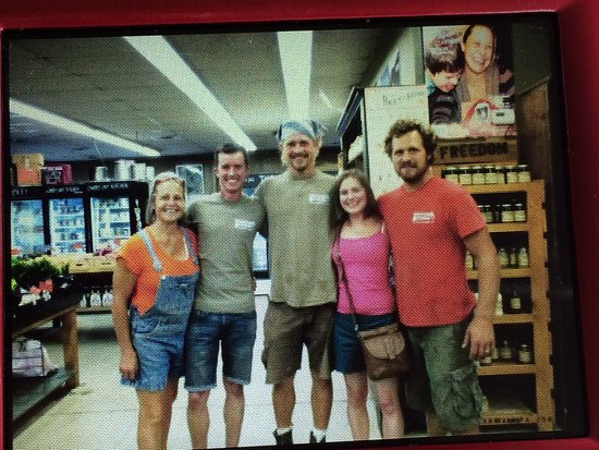 Freedom Farms - Local Market: Emma and Duncan from England. July 2016.