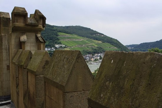 Trechtingshausen, Niemcy: The view from on high