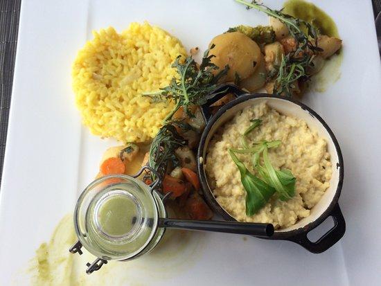Vertou, Francia: Assiette végétarienne