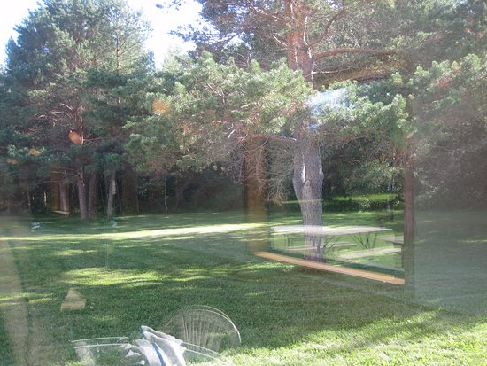 Hinckley, MN: If your room faces west there are trees and grass
