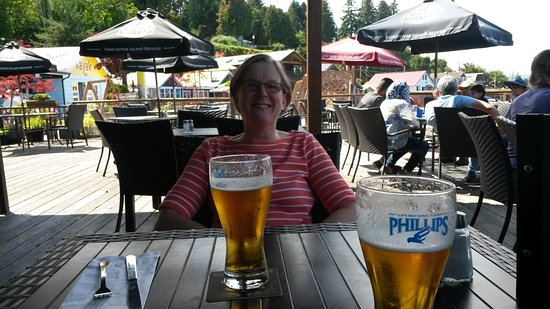 Cowichan Bay, Canadá: on the Patio