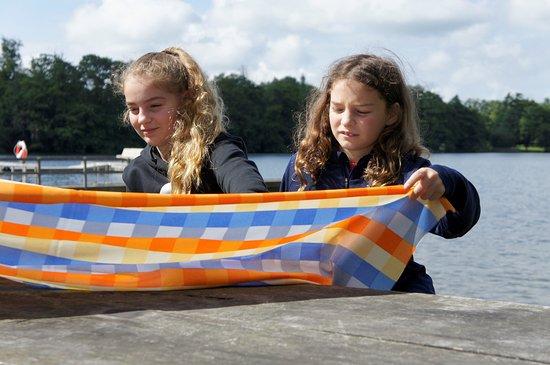 Garsnas, Sweden: Dags för frukost i Gyllebosjön