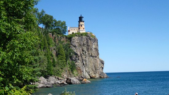 Two Harbors, MN: View from the Trail