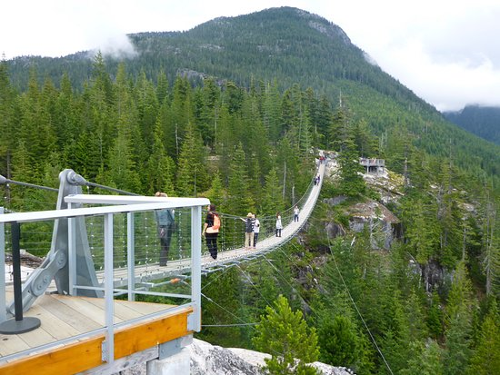 Squamish, Kanada: Suspension bridge