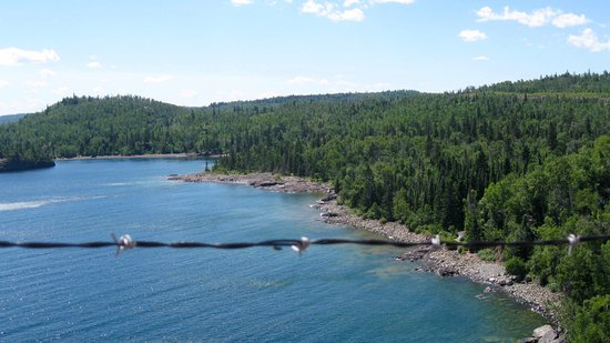 Two Harbors, MN: Views of Lake Superior