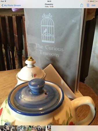 Oswestry, UK: My pot of tea
