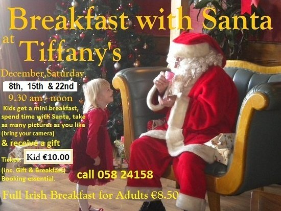 Dungarvan, Ιρλανδία: Breakfast with Santa