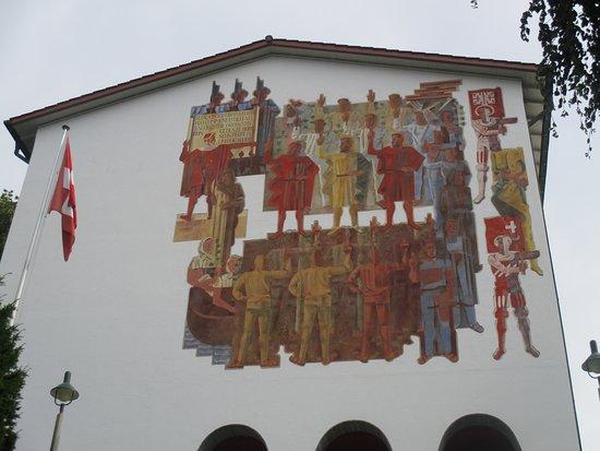 Schwyz, Schweiz: muséum