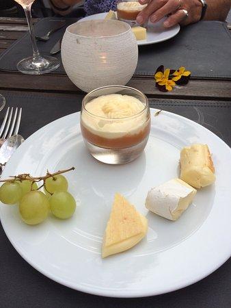 Eupen, Belgique : Maakt deel uit van Menu : desserten