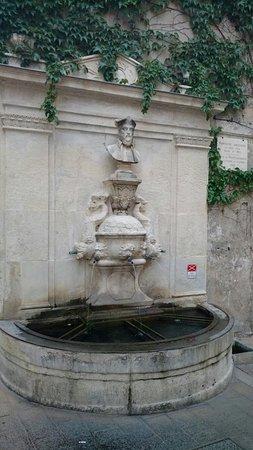 Saint-Rémy-de-Provence, Francja: Fontaine Nostradamus