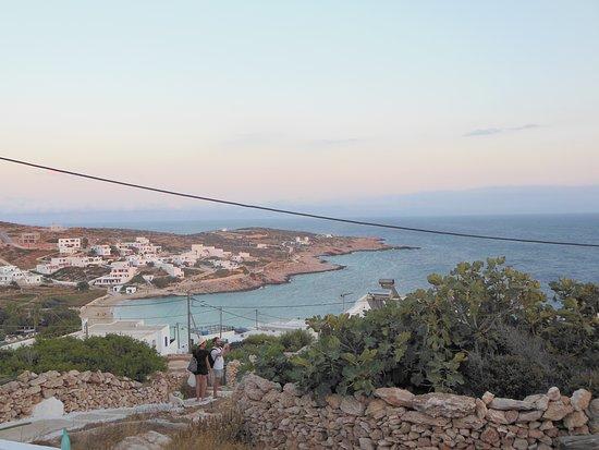 Donousa, Grecia: θέα από σημαδούρα