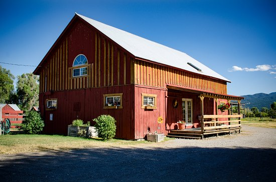 Swan Valley, ID: guest suites in the barn built in 1890