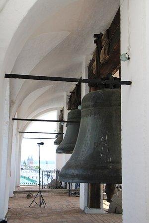 Rostov, Ryssland: Колокола на звоннице.