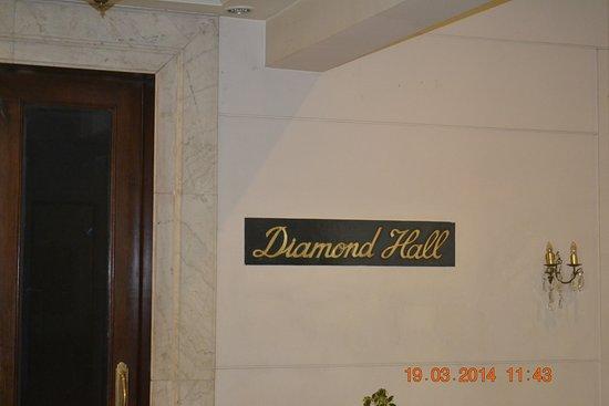 Grand Hotel Kathmandu: Conference hall.