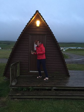 Machrihanish Holiday Park: Wigwamtastic