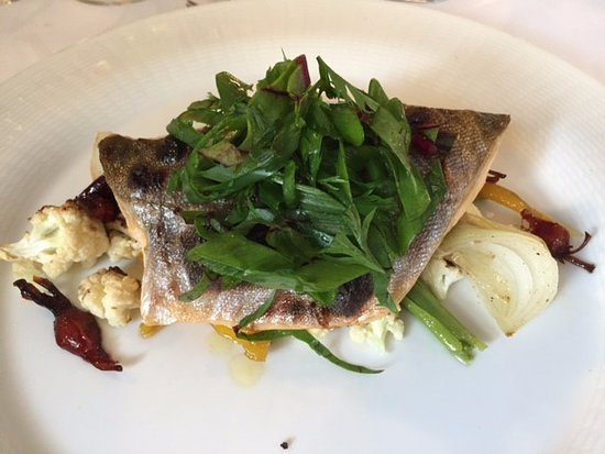 Mantsala, Finland: River Trout with seasoned onions, cauliflower, beetroot, and carrots