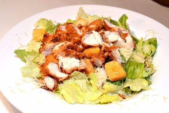 Glen Burnie, MD: Caesar Salad with Hand Breaded Chicken!