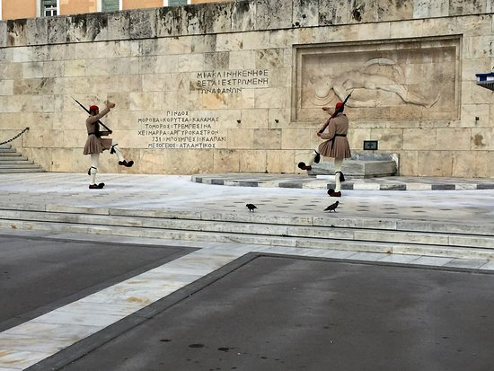 Attica, Greece: Syntagma Square changing of the guards