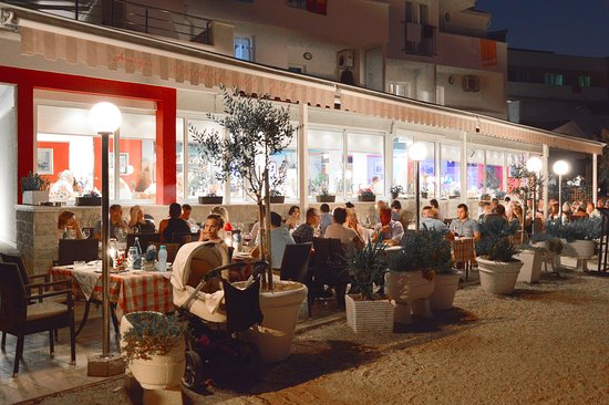 Podstrana, Kroasia: dinner time