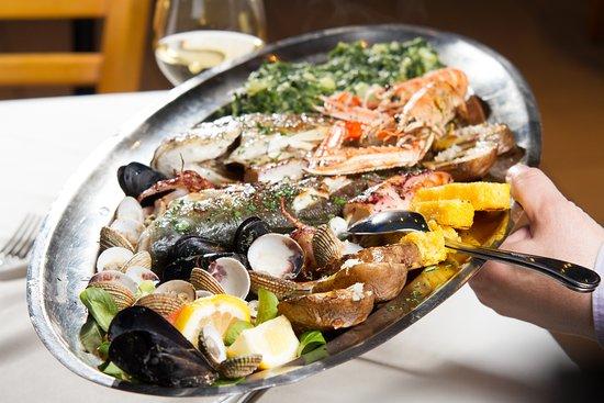 Podstrana, Kroatien: seafood