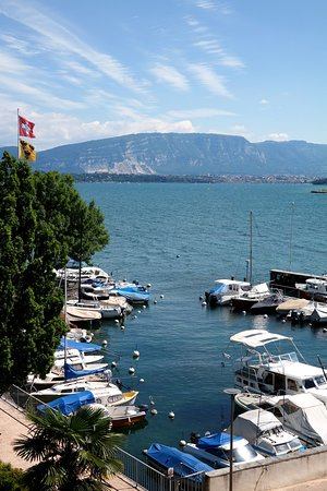 Auberge Port Gitana: View from the room number 3.