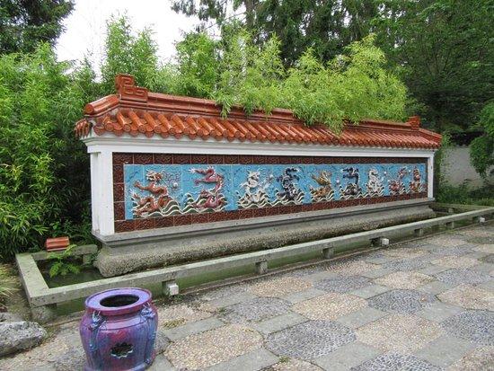 Haren, The Netherlands: Chinese tuin